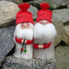 Santa and Mrs. Claus 8 inch
