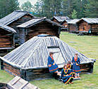 Sami village near Arvidsjaur